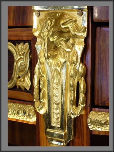 Louis XVI Console Desserte stamped RVLC -