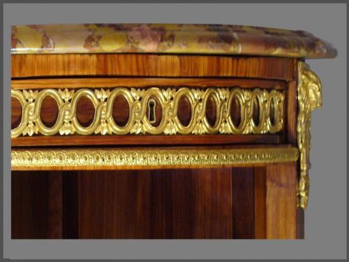 Louis XVI - Louis XVI Console Desserte stamped RVLC