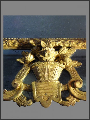 18th century - Regence Period giltwood Mirror