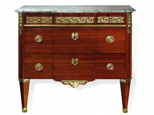 Commode d'époque Louis XVI estampillée Godefroy DESTER