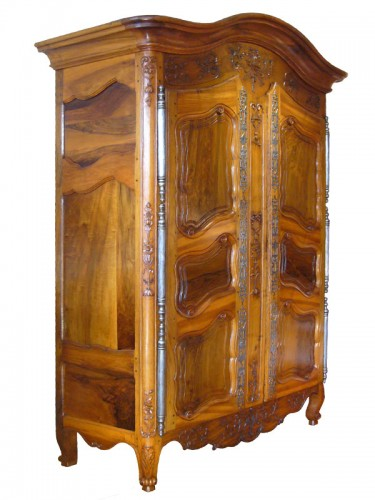 French Provence Armoire,  - Furniture Style Louis XV