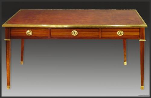 Louis XVI Bureau plat, Stamped Pierre DUPRE (1732 - 1799) - Furniture Style Louis XVI