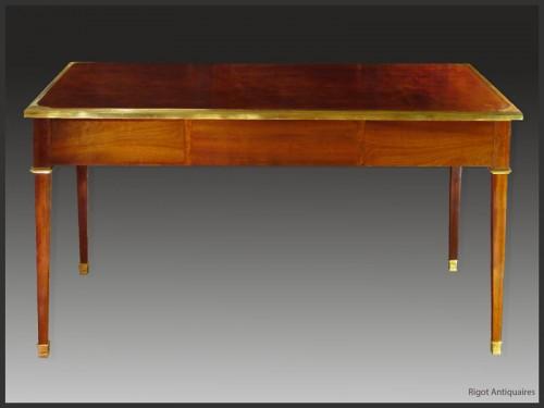 Furniture  - Louis XVI Bureau plat, Stamped Pierre DUPRE (1732 - 1799)