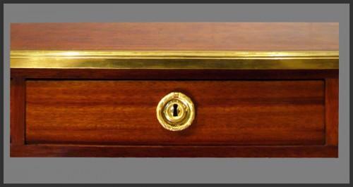 18th century - Louis XVI Bureau plat, Stamped Pierre DUPRE (1732 - 1799)