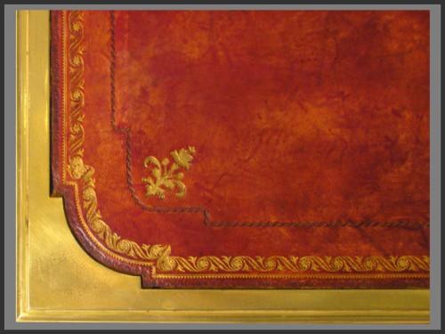 Louis XVI - Louis XVI Bureau plat, Stamped Pierre DUPRE (1732 - 1799)