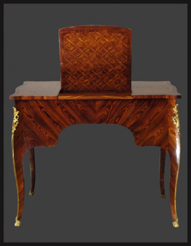 Furniture  - Louis XV Coiffeuse, by Antoine Mathieu CRIARD
