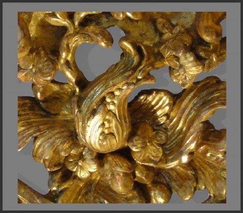 18th century - Louis XV Period giltwood Console