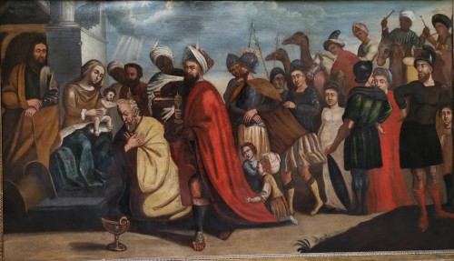 Paintings & Drawings  - The adoration of The magi, Italian School 17 Th Century