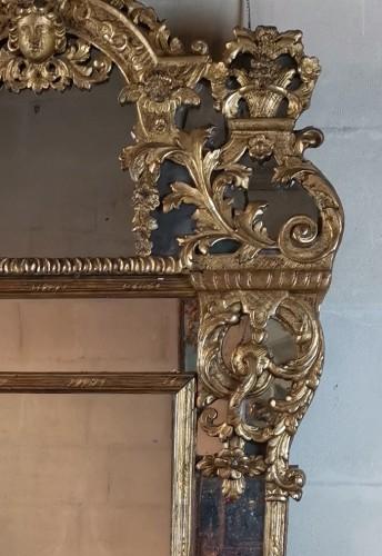 A giltwood mirror circa 1700-1720 - French Regence