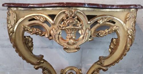 A Louis XV console circa 1755 - Louis XV