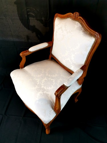 Pair of Louis XV armchairs circa 1750 - Louis XV