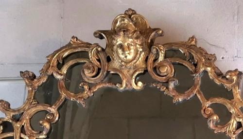 Mirrors, Trumeau  - A Louis XIV mirror, early 18th century circa 1700-1715