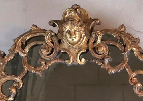 A Louis XIV mirror, early 18th century circa 1700-1715 -
