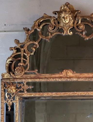 18th century - A Louis XIV mirror, early 18th century circa 1700-1715