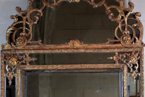 Louis XIV - A Louis XIV mirror, early 18th century circa 1700-1715