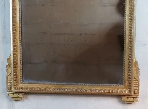 Neoclassical mirror Louis XVI  late time of 18th century circa 1781. -