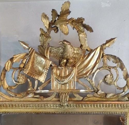 18th century - Neoclassical mirror Louis XVI  late time of 18th century circa 1781.