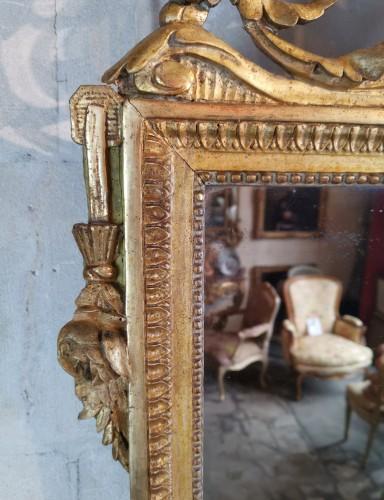 Neoclassical mirror Louis XVI  late time of 18th century circa 1781. - Louis XVI