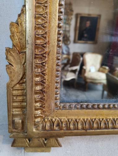 Antiquités - Neoclassical mirror Louis XVI  late time of 18th century circa 1781.
