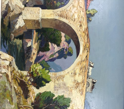 - Gustave Vidal (1895-1966) - The old roman bridge