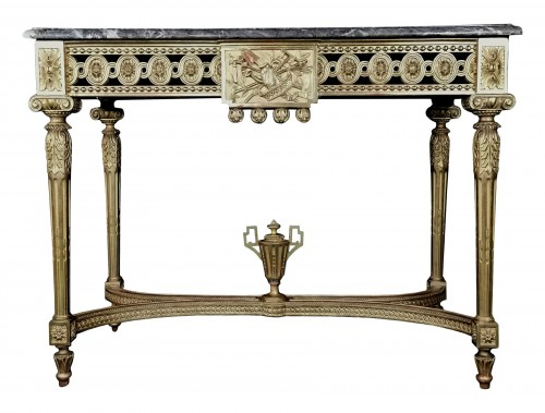 Neoclassical console table Louis XVI period late 18th century circa 1800