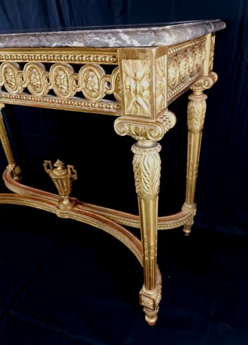 Neoclassical console table Louis XVI period late 18th century circa 1800  -