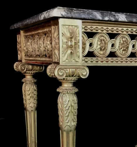 18th century - Neoclassical console table Louis XVI period late 18th century circa 1800