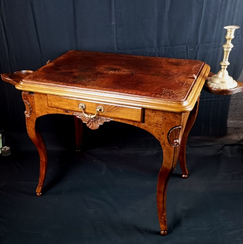 Régence Lyonnaise table known as a bipartite early 18th century circa 1710 - Furniture Style French Regence