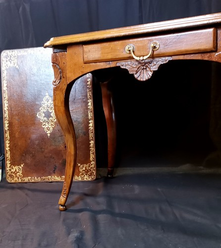 Furniture  - Régence Lyonnaise table known as a bipartite early 18th century circa 1710
