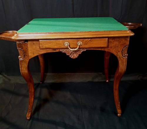 18th century - Régence Lyonnaise table known as a bipartite early 18th century circa 1710