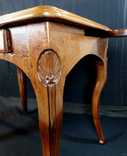 Antiquités - Régence Lyonnaise table known as a bipartite early 18th century circa 1710