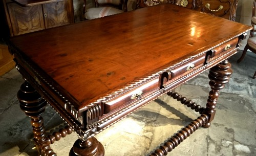 17th century - A Solid Rosewood Louis XIV Table Circa 1680