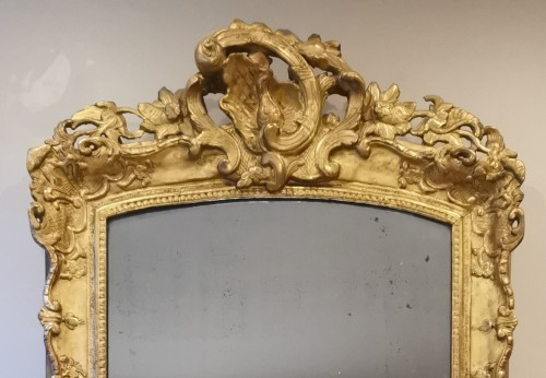 Mirrors, Trumeau  - A Late Régence Period Giltwood Mirror, early 18th century