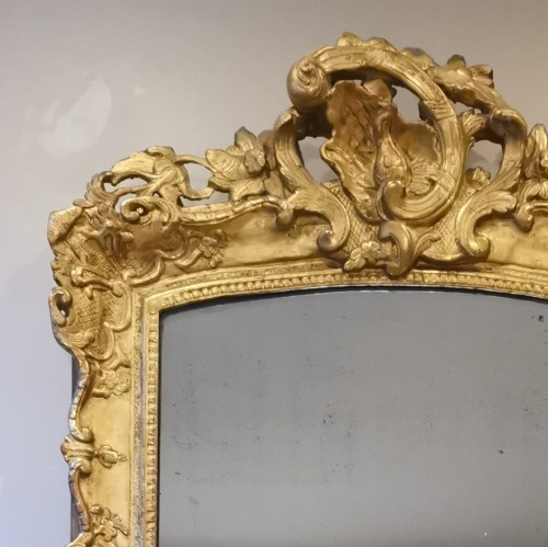 18th century - A Late Régence Period Giltwood Mirror, early 18th century