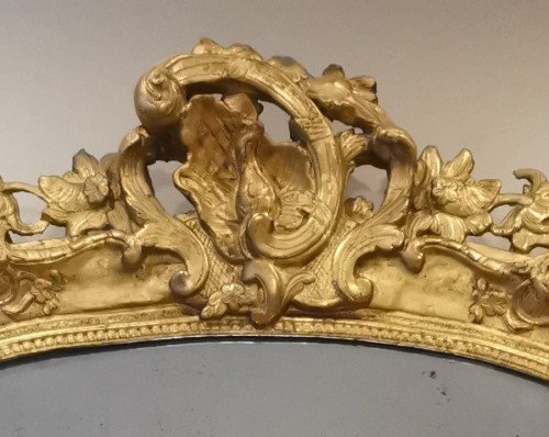 Antiquités - A Late Régence Period Giltwood Mirror, early 18th century