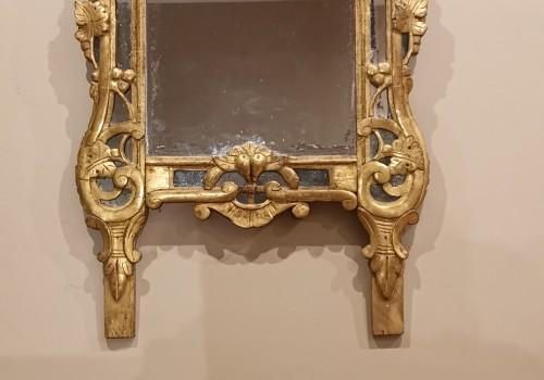Mirrors, Trumeau  - Louis XV  Provencal mirror circa 1760-1770