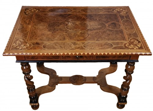 Louis XIV period table inlaid late 17th century