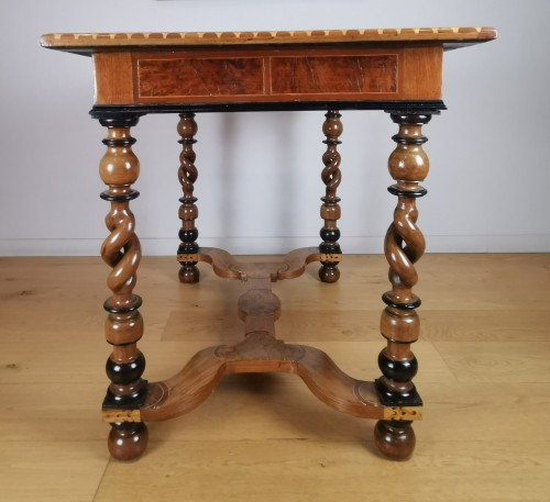 Louis XIV period table inlaid late 17th century -