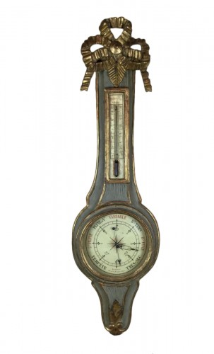 Neoclassical Barometer Louis XVI Last Decade Of The 18th Century.