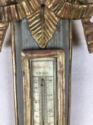Neoclassical Barometer Louis XVI Last Decade Of The 18th Century. - Louis XVI