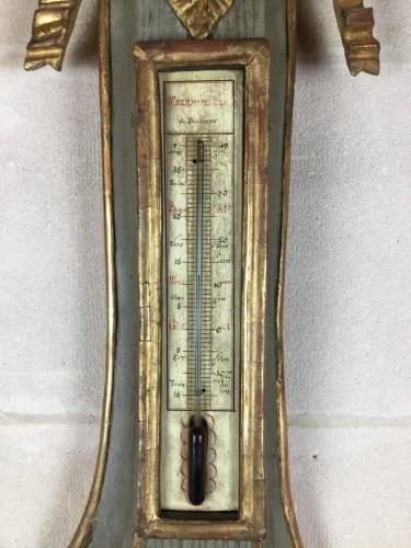 Louis XVI - Neoclassical Barometer Louis XVI Last Decade Of The 18th Century.