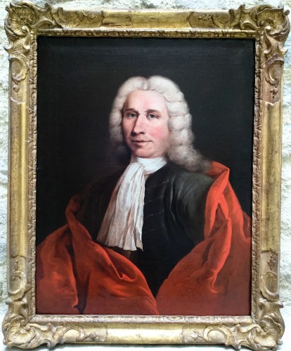 Le Marquis de Ribouton, attributed to Philippe Sauvan1698-1792.