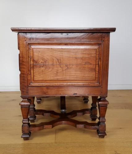 A Louis XIV Mazarin Desk, Late 17th century. -