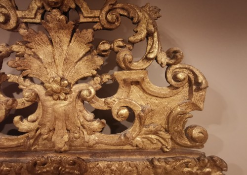A giltwood Louis XIV period mirror 17th century circa 1680. - Louis XIV