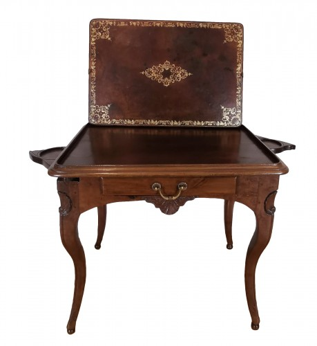 A Regence game table early 18th Century