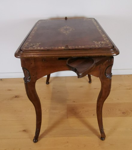 A Regence game table early 18th Century - French Regence