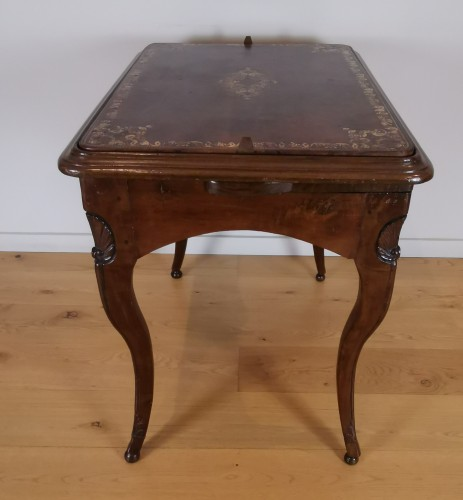 French Regence - A Regence game table early 18th Century