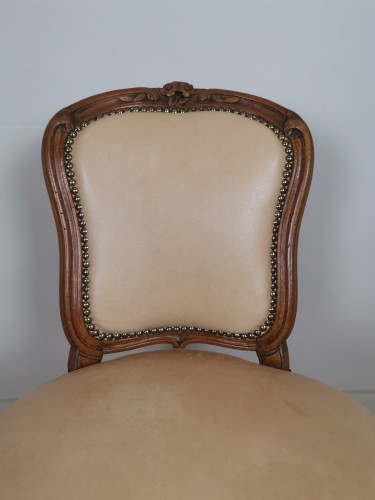 Antiquités - A Louis XV set of four chairs, mid 18th century, circa 1750