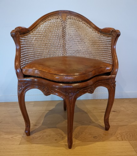 A Louis XV Fauteuil de bureau mid 18th century - Seating Style Louis XV
