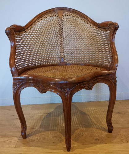 Seating  - A Louis XV Fauteuil de bureau mid 18th century
